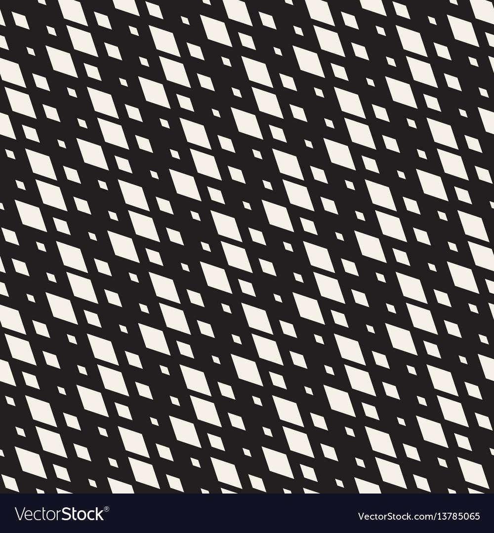 Repeating shape halftone modern geometric lattice