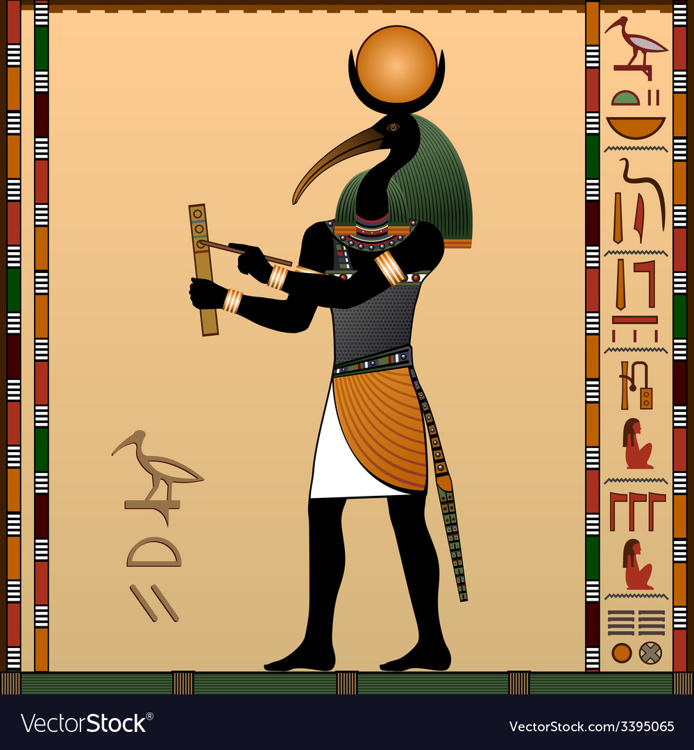 Thoth vector image