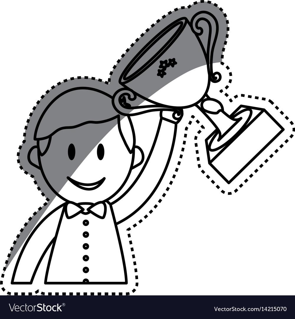 Businessman entrepreneur cartoon