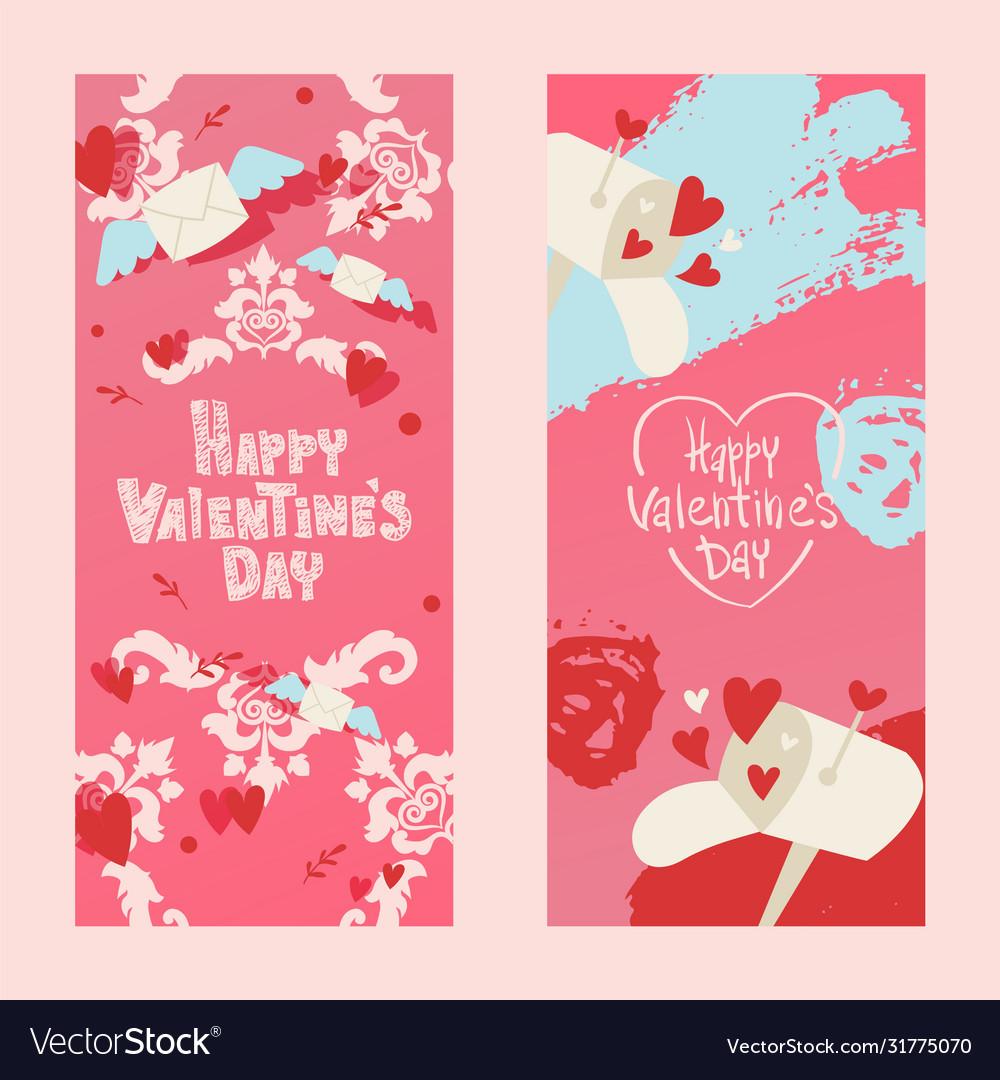 Happy valentines day invintation card