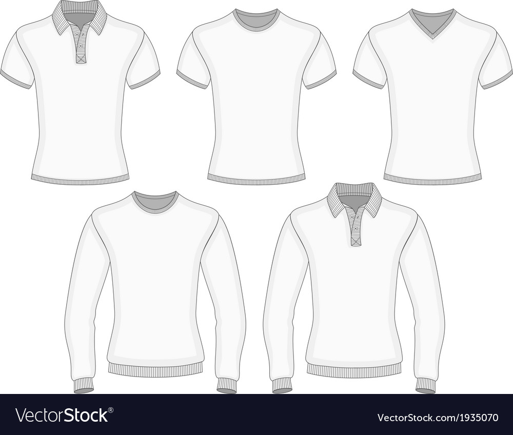 Mens polo shirt and t-shirt