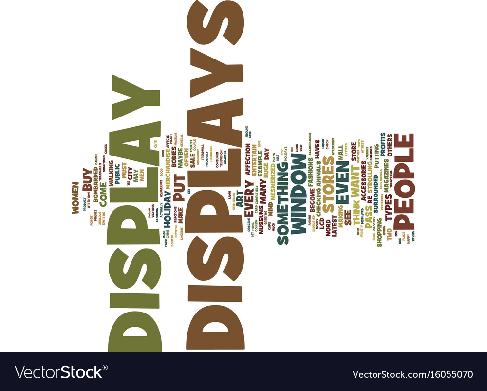 The art of display text background word cloud