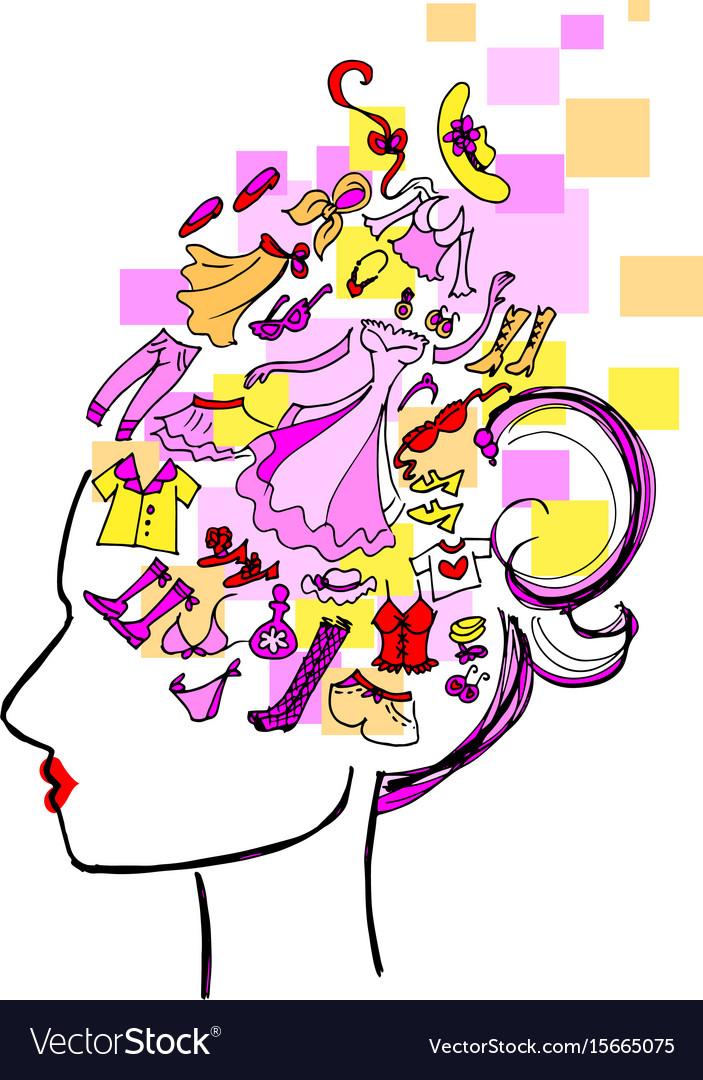 Fashion victim vector image