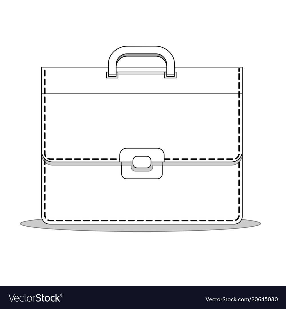 Business briefcase suitcase bag for documents