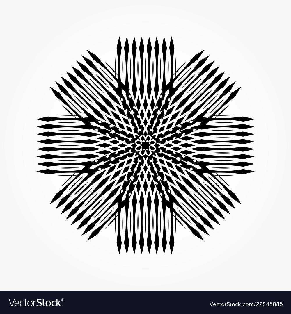Abstract circular 0015