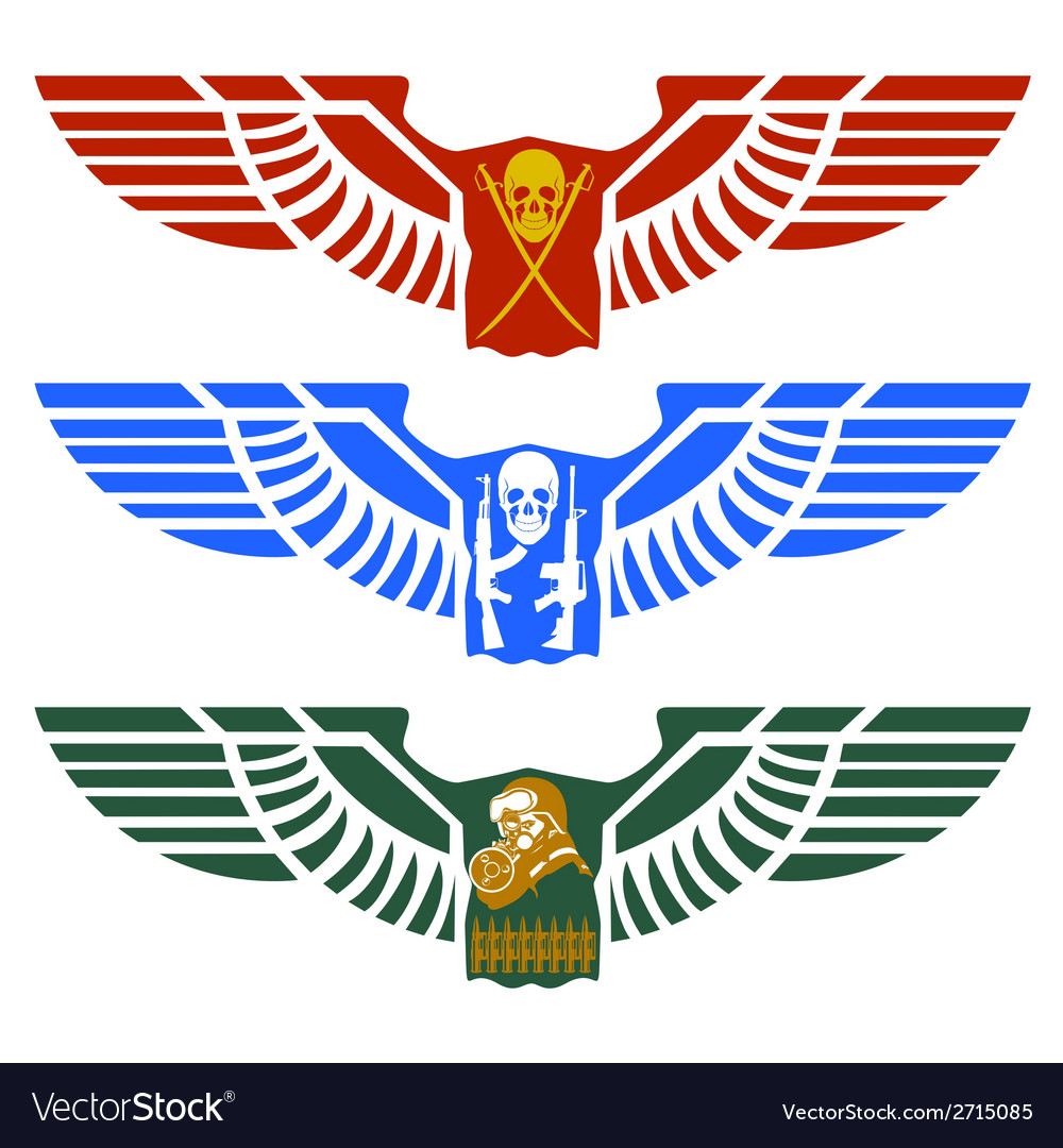 Military icon vector image