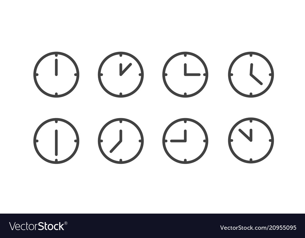 Different status of clocks collection