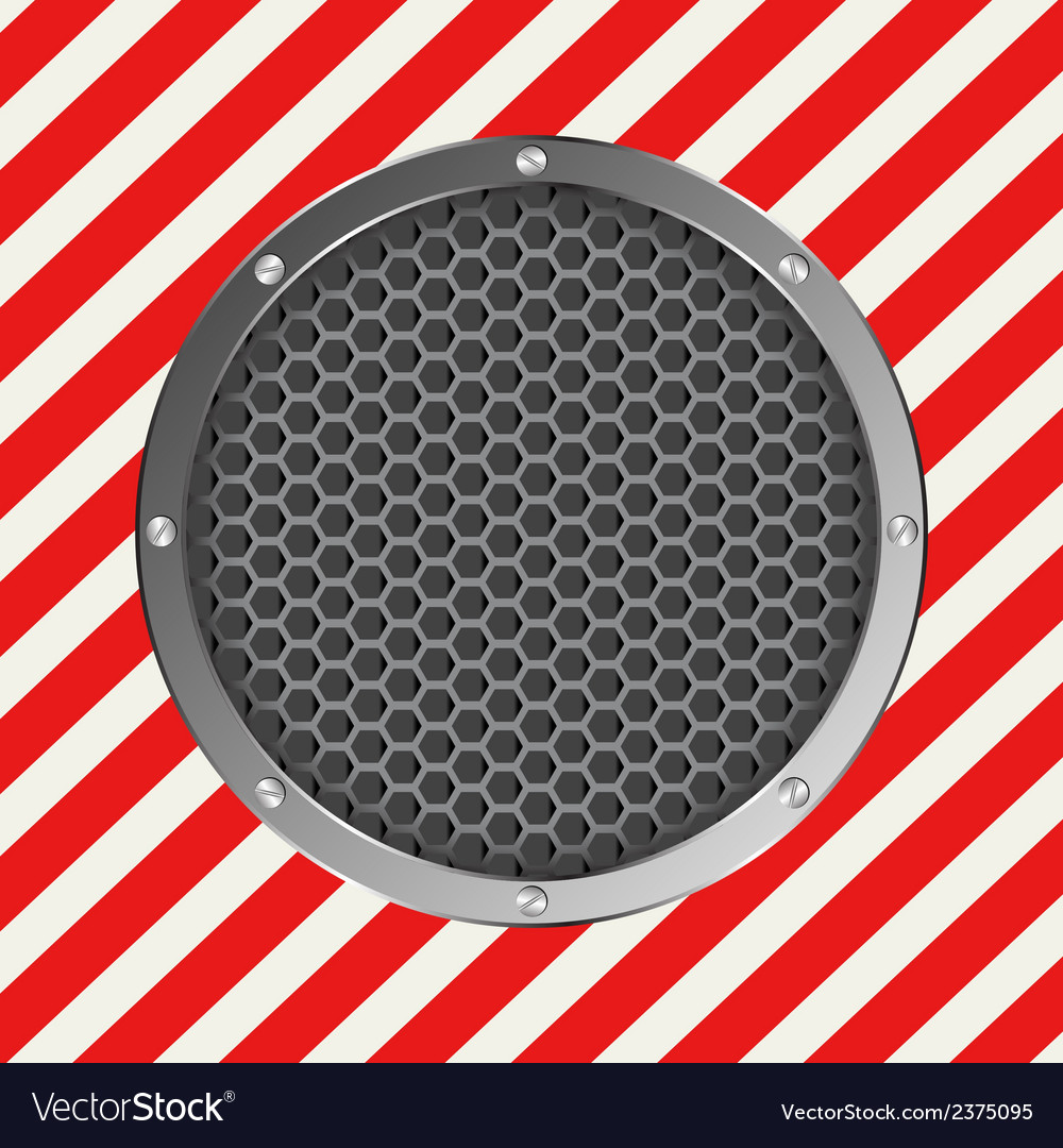 Red white vector image