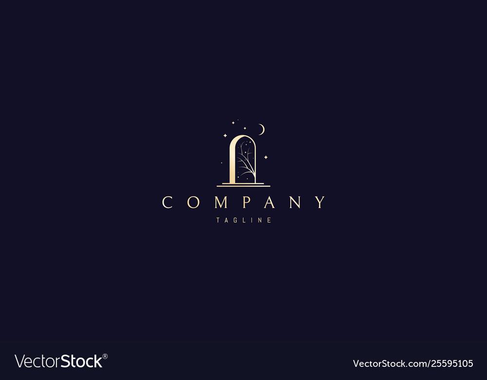 Door wonders gold logo design