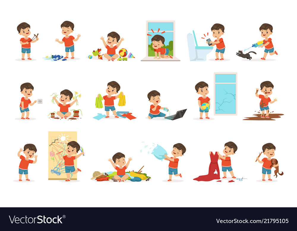 Naughty Boy, Boy Clipart, Character Introduction PNG Transparent Clipart  Image and PSD File for Free Download