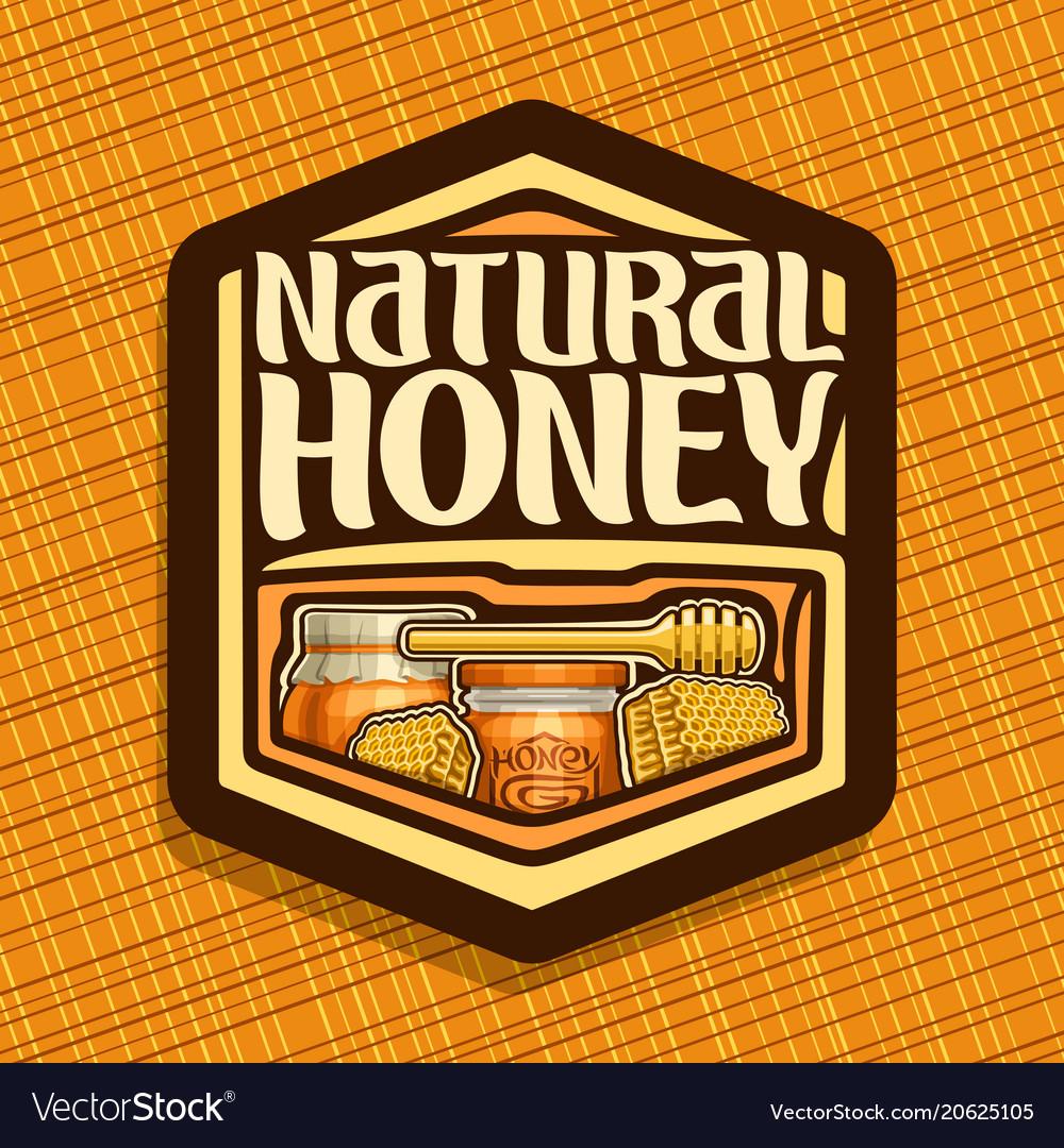 Logo for natural honey