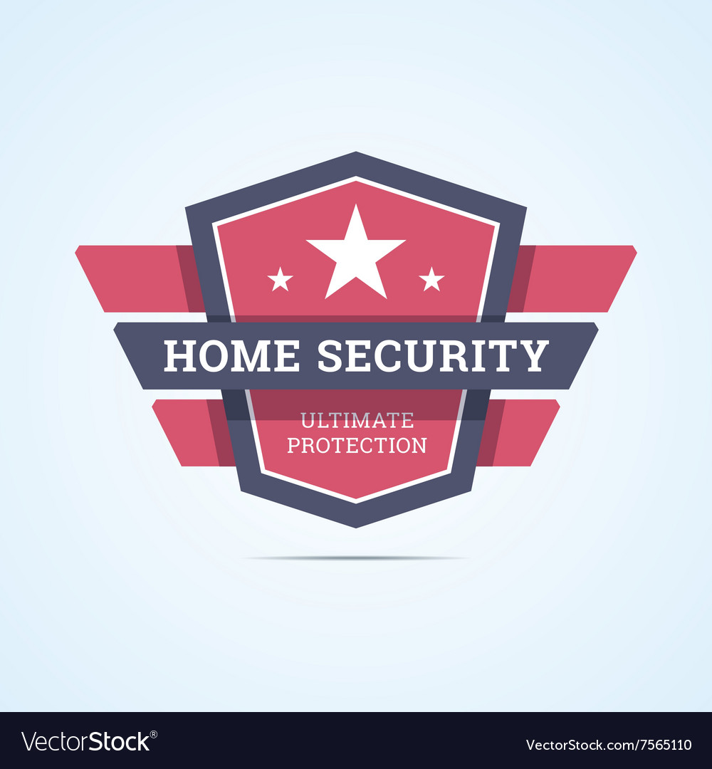 Home security badge
