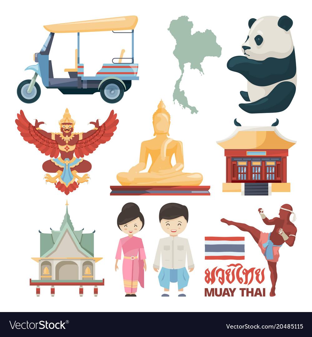 Traditional landmarks of