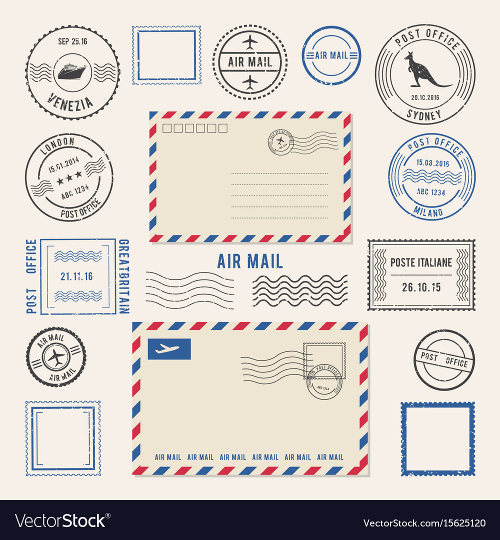 Letters and postmarks