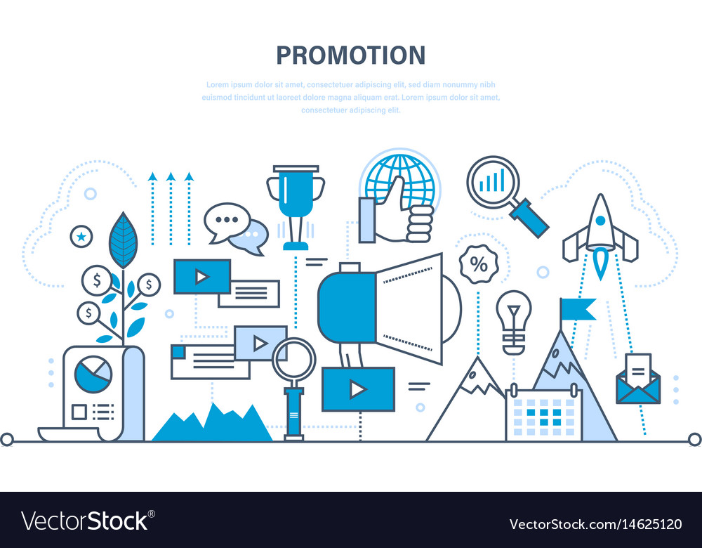 Progress in work and business success services vector image