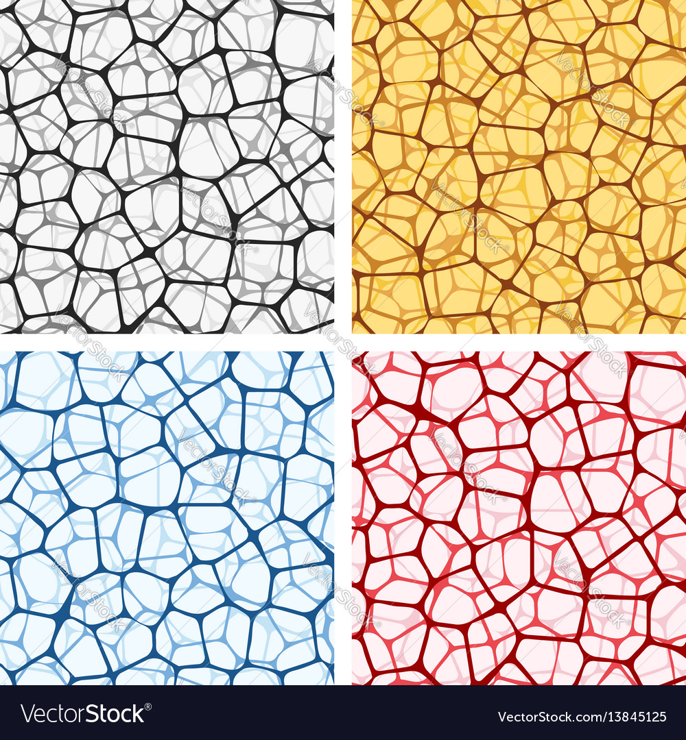 Abstract backgrounds set with nets