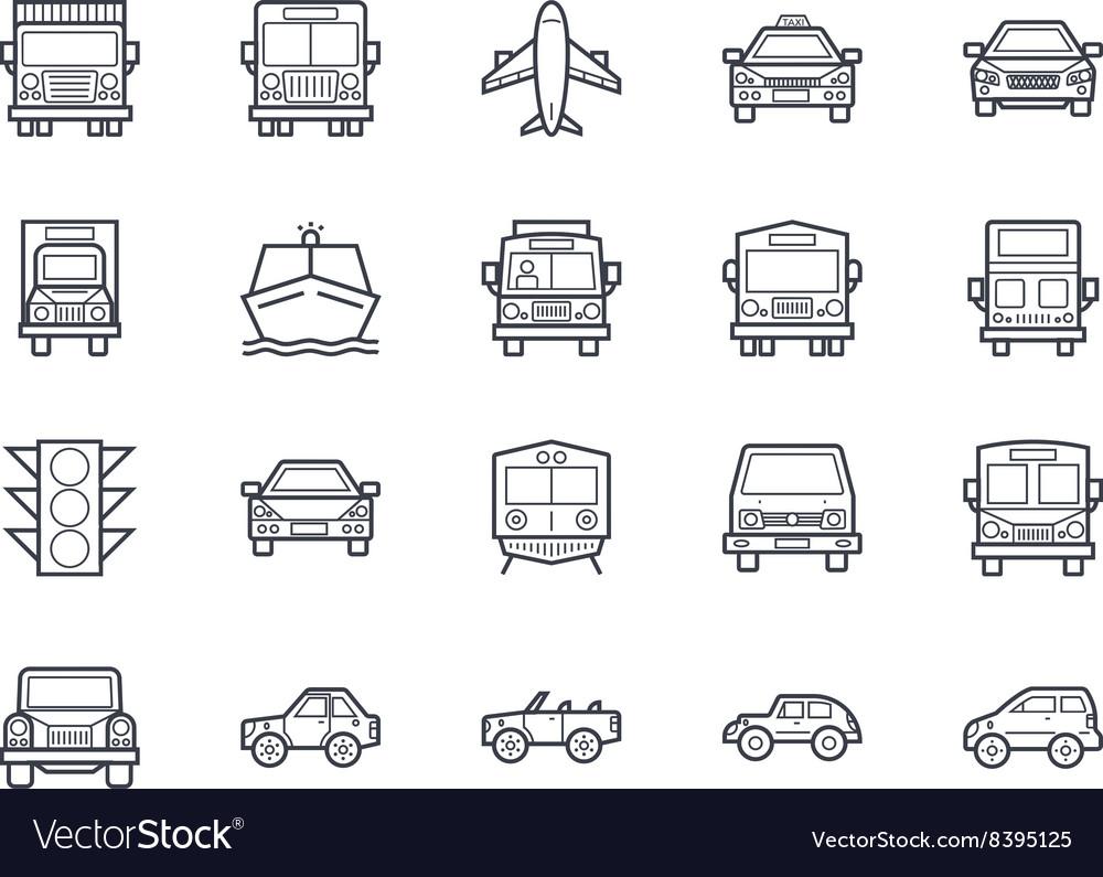 Transport Icons 4