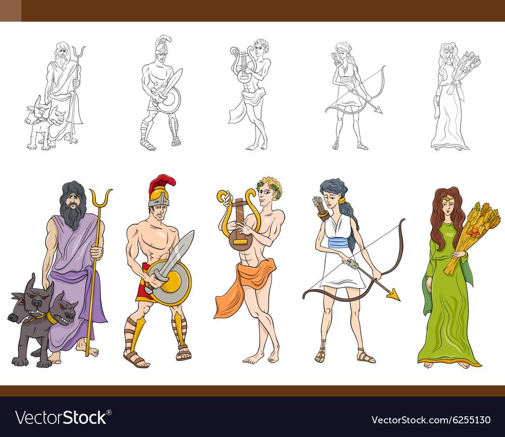 Greek gods set