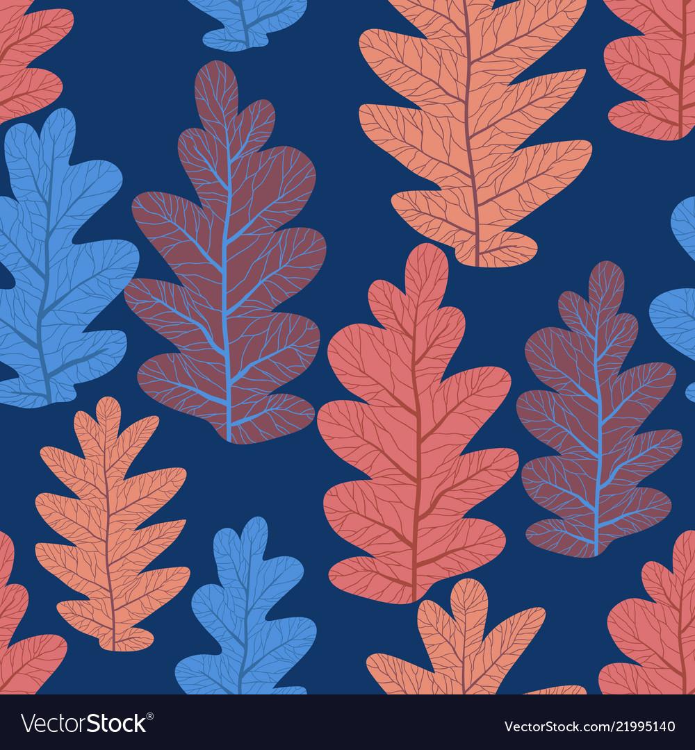 Leaves pattern seamlss