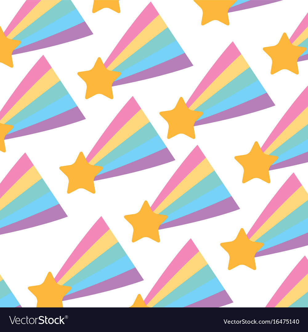 Shooting star pattern background
