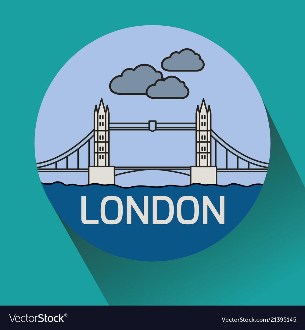 London tower bridge linear