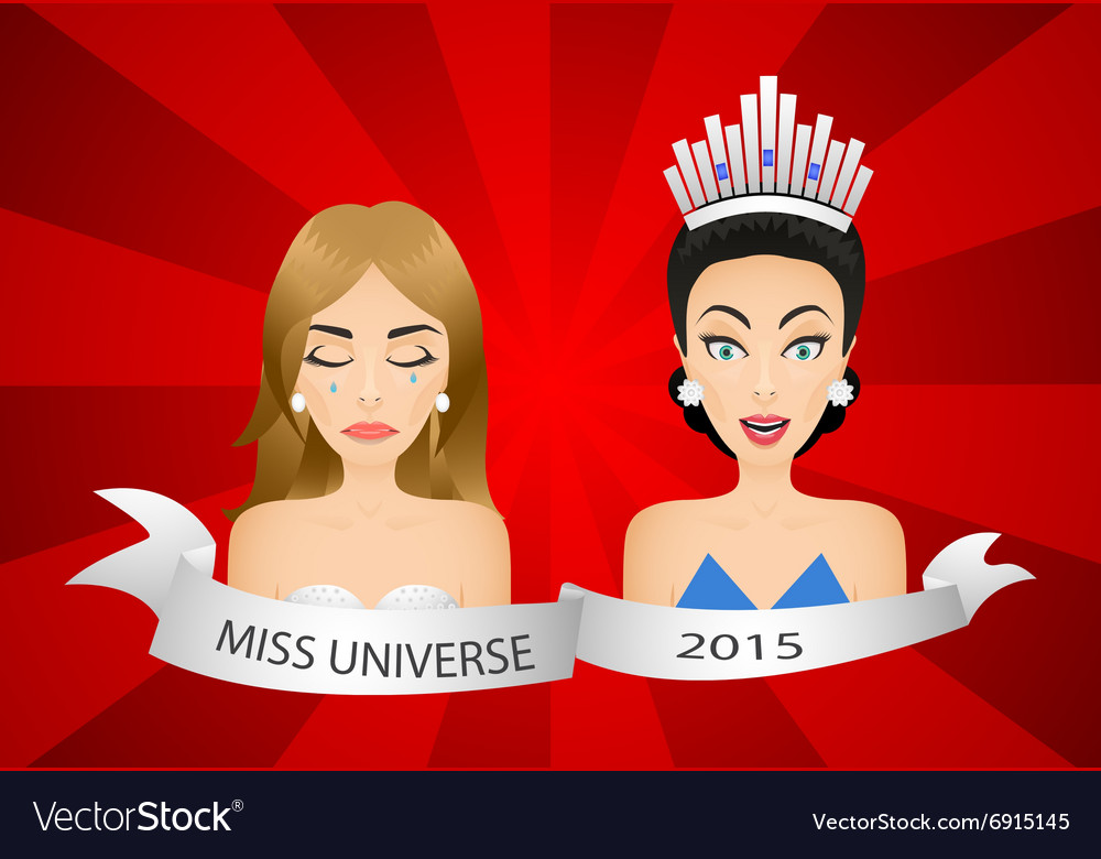 Miss universe 2015 contest Wrong winner