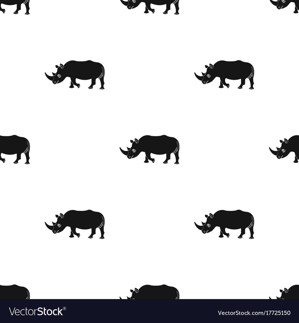 A large indian rhinoceros a wild animal a