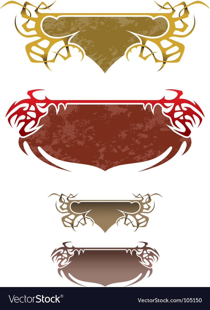 Fantasy frames Royalty Free Vector Image - VectorStock