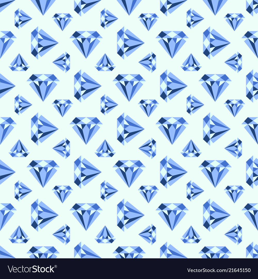 Pattern with diamonds seamless can