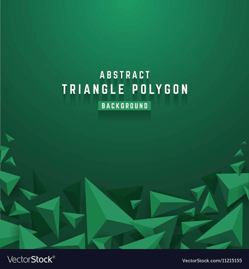 Abstract 3D triangle polygon background