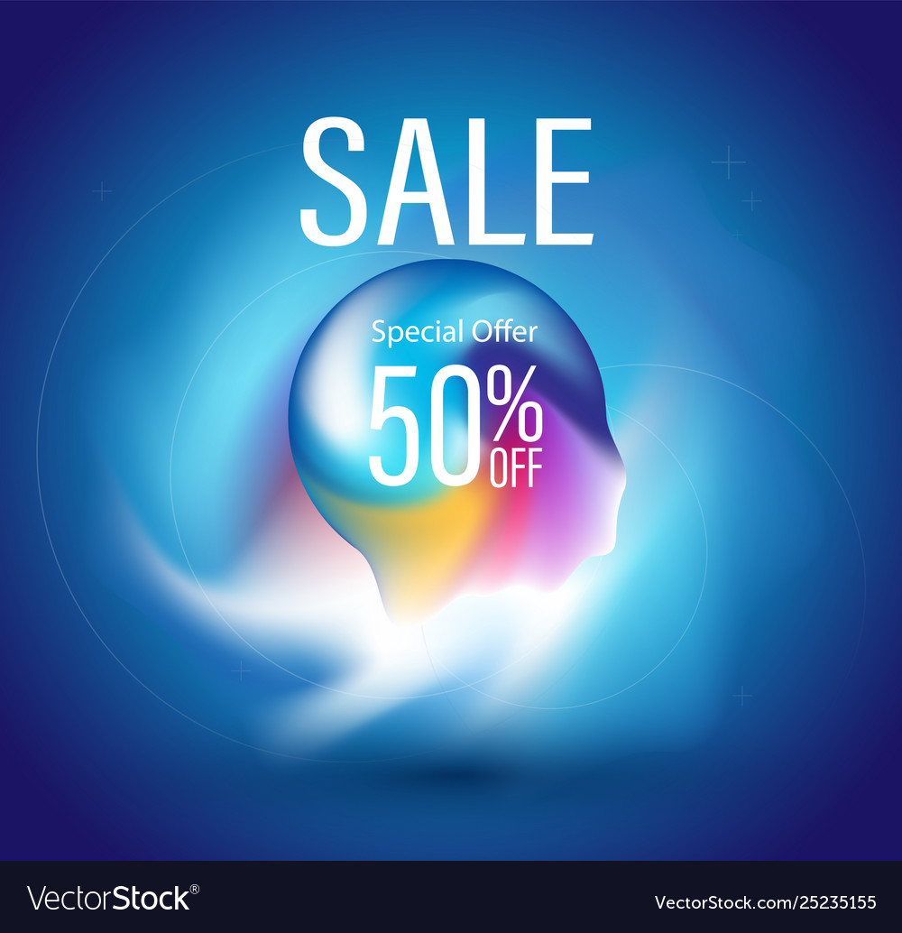 Sale abstract background