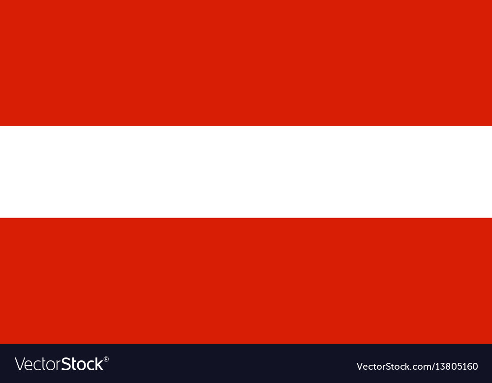 Austria flag for independence day and infographic
