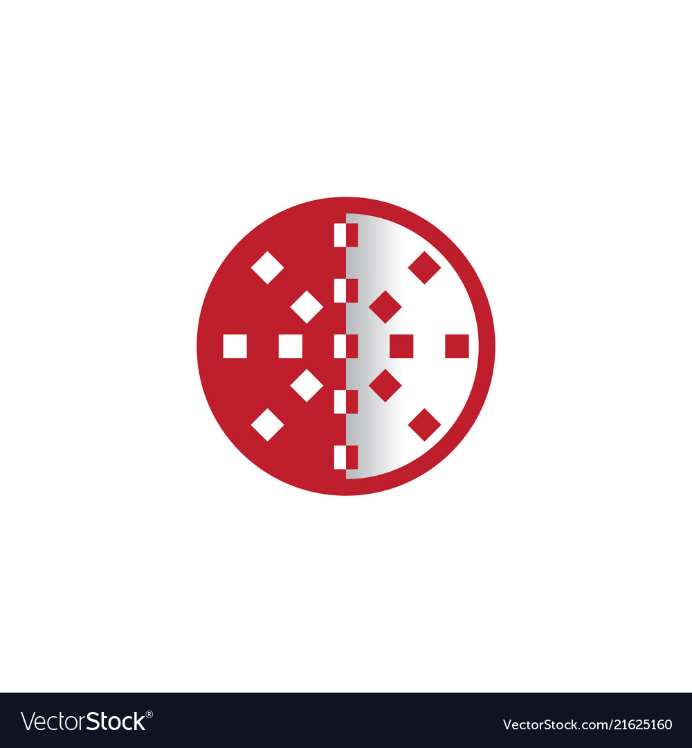 Circle business logo abstract