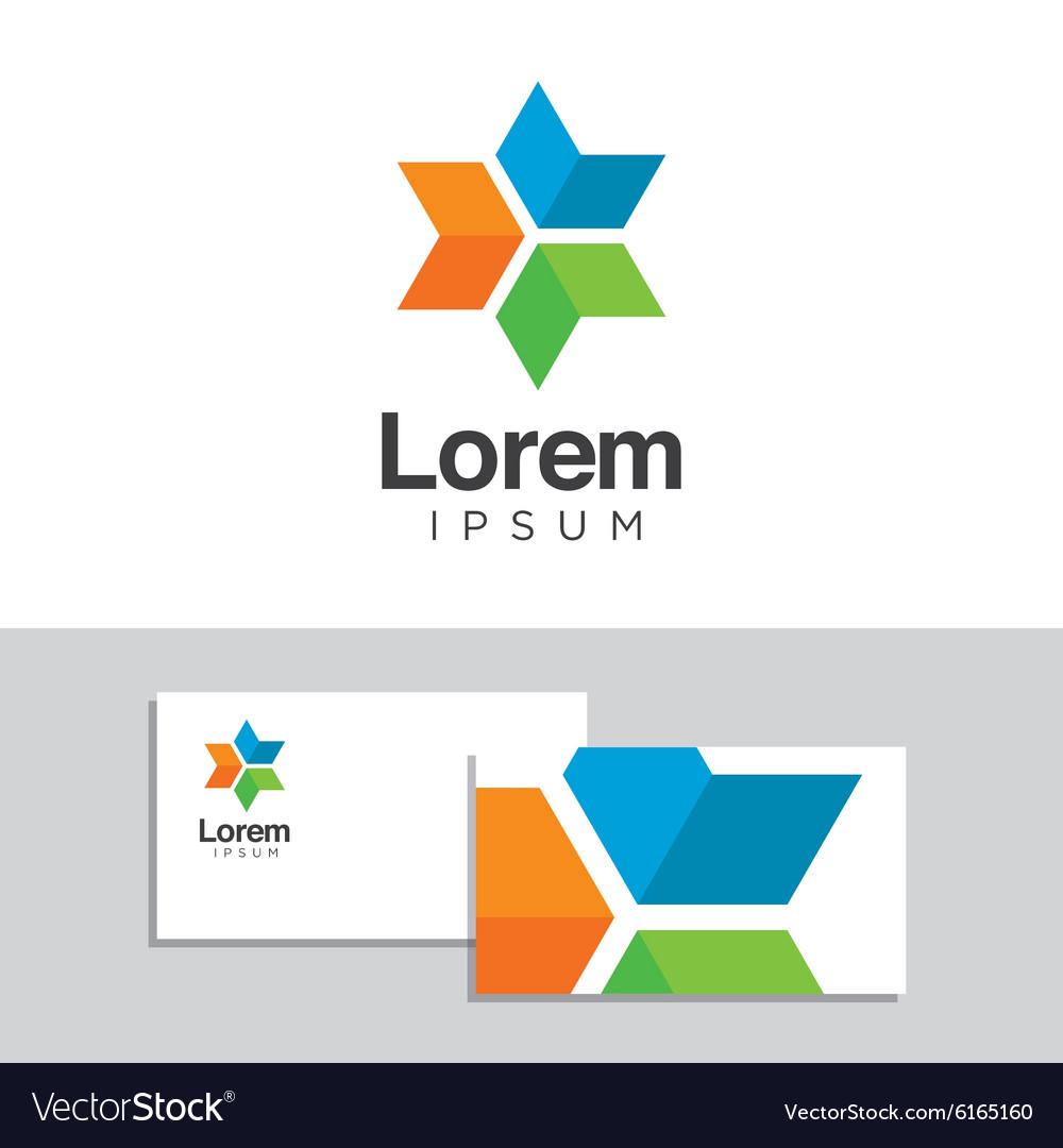 Logo design element 30 vector image