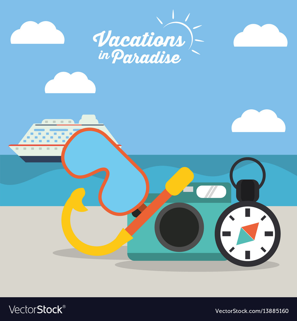 Vacations in paradise - equipment travel