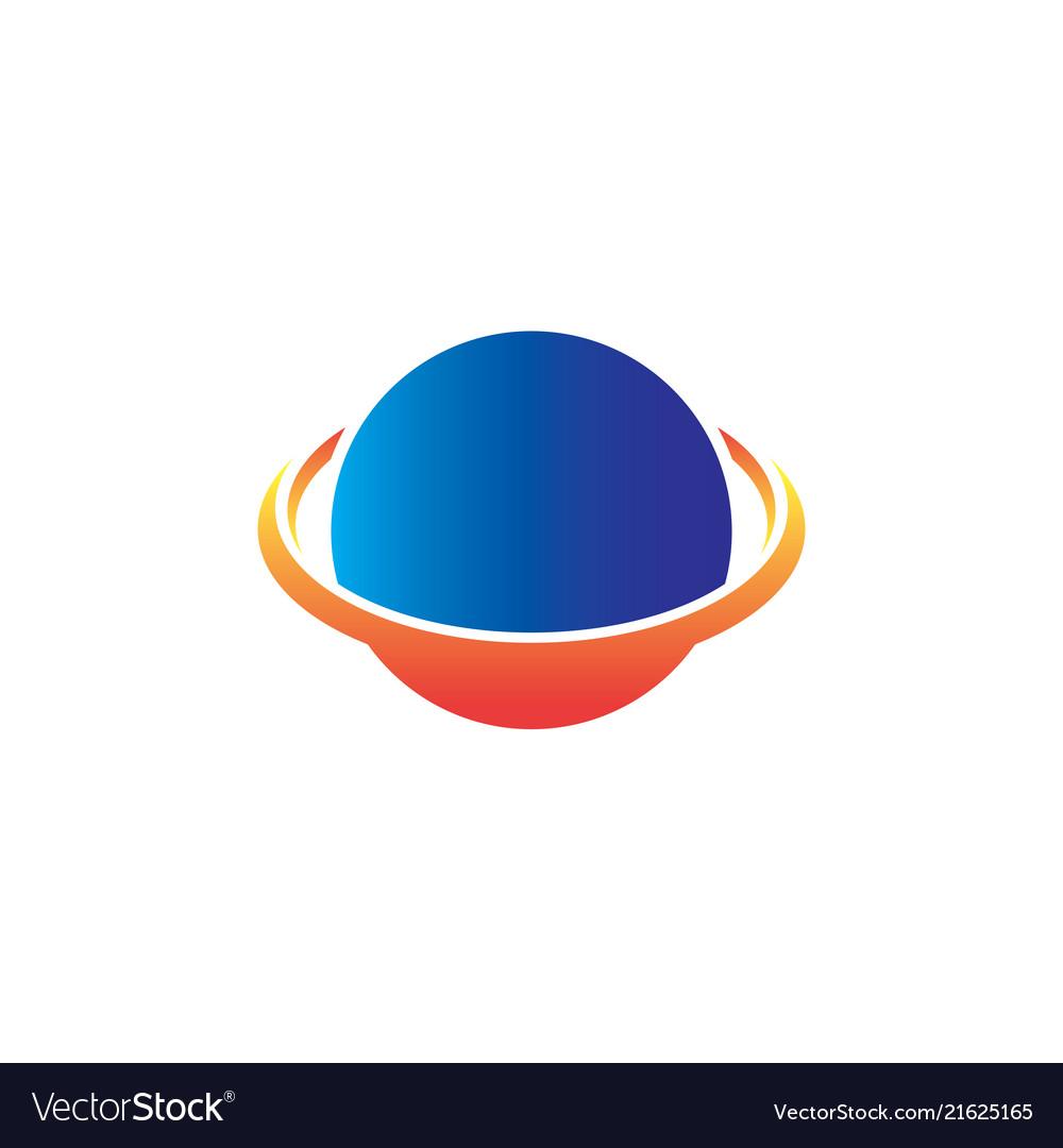 Circle orbit business logo