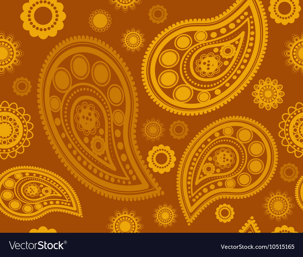 Seamless pattern in gold and yellow