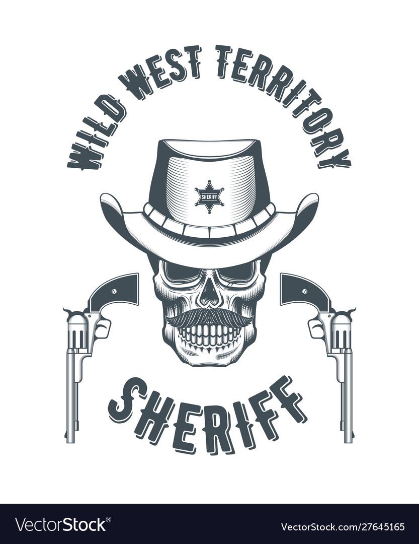 Sheriff skull logo