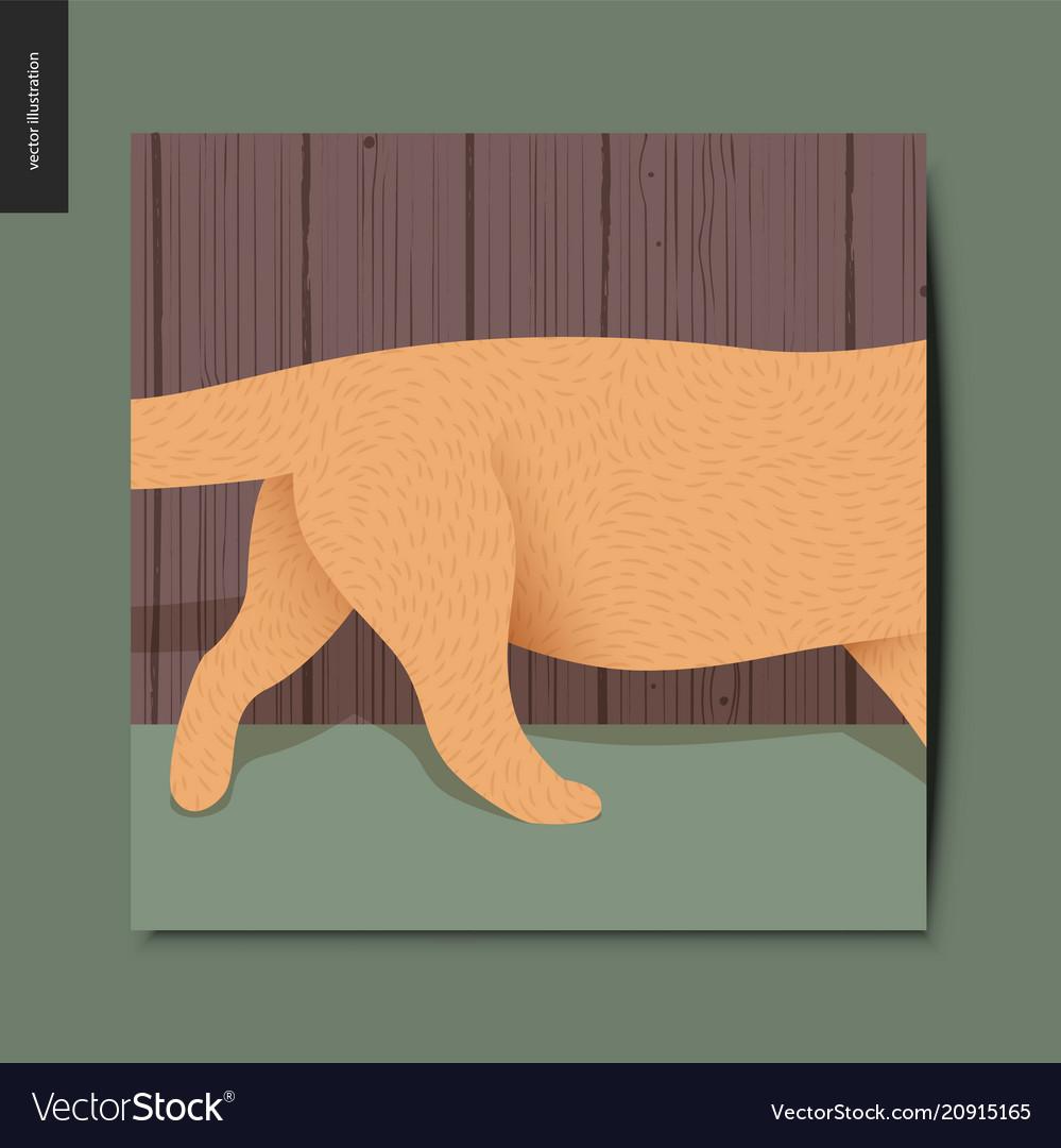 Simple things - running cat