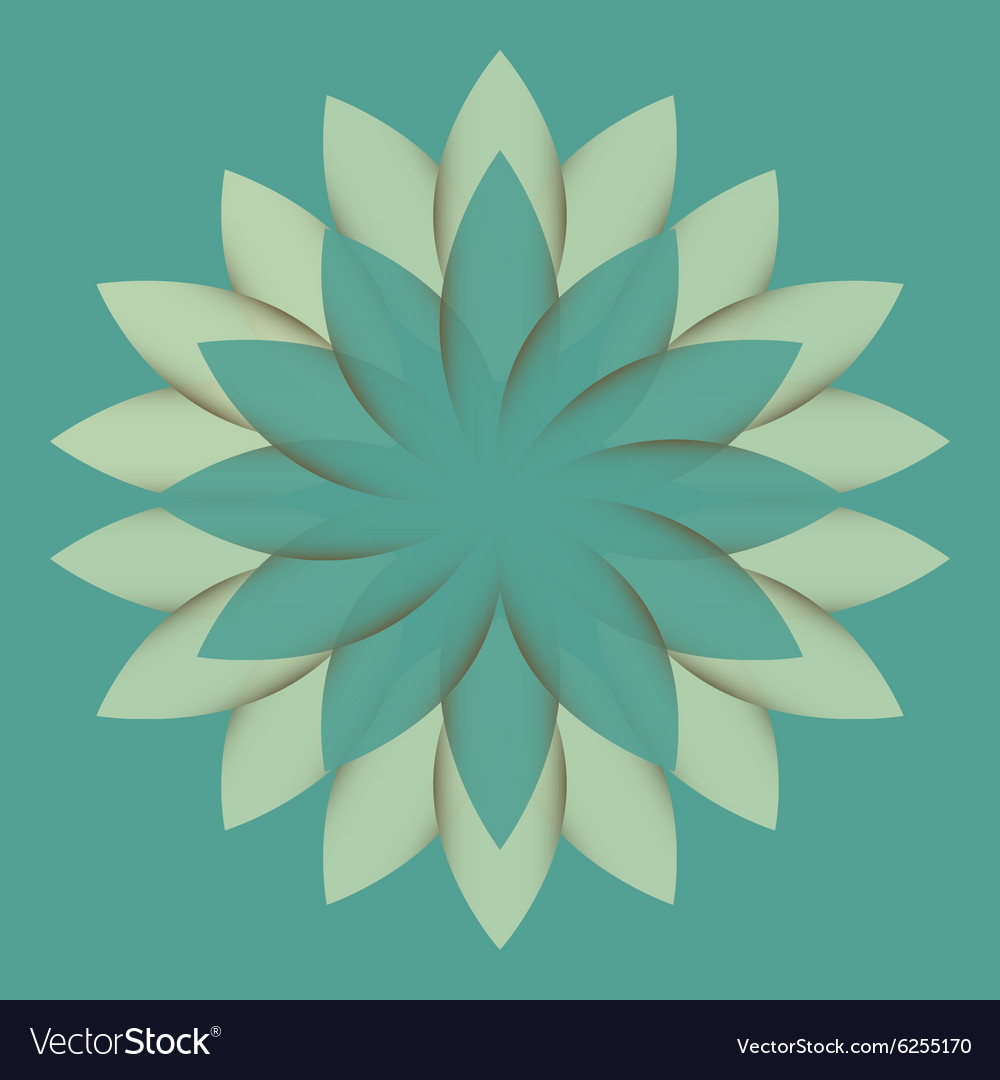Beautiful lotus flower color wheel mandala vector image izmirmasajfo