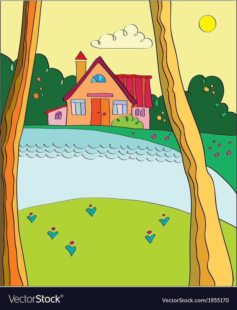 Cottage near the lake