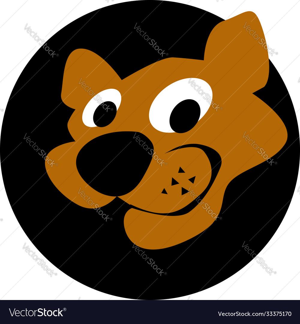 Cougar head logo template