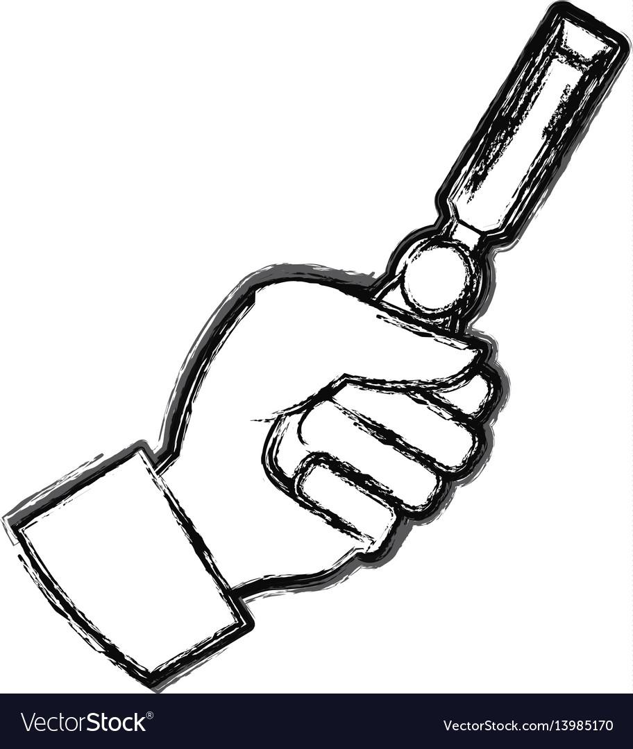 Hand chisel carpentry tool
