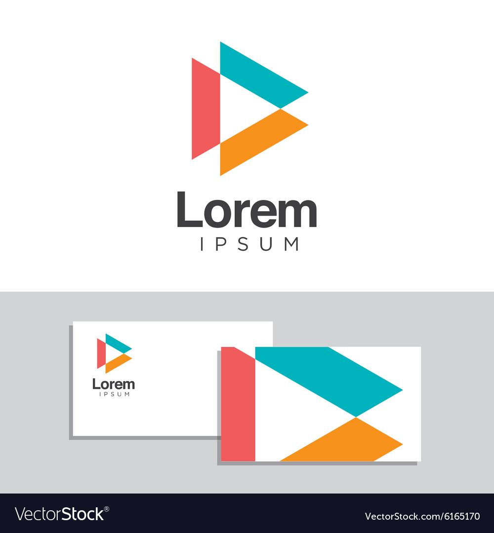 Logo design element 33 vector image