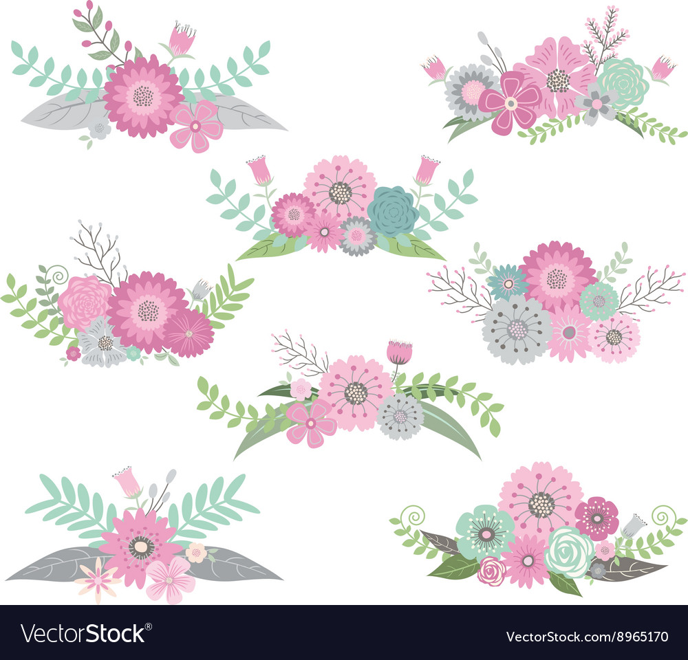 Wedding Flower Set