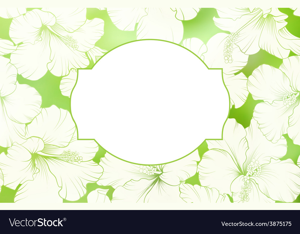 Awesome card background vector image
