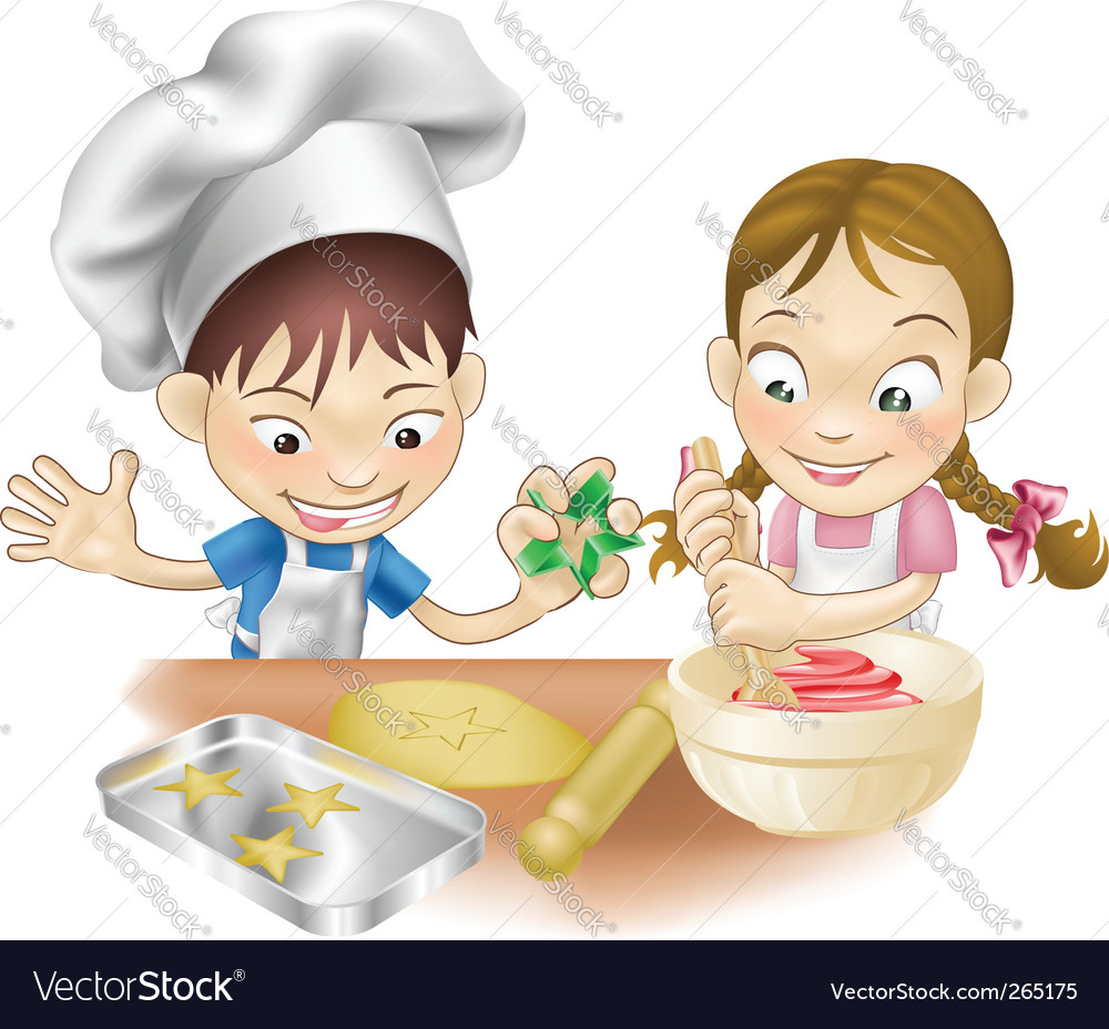 Kitchen fun vector