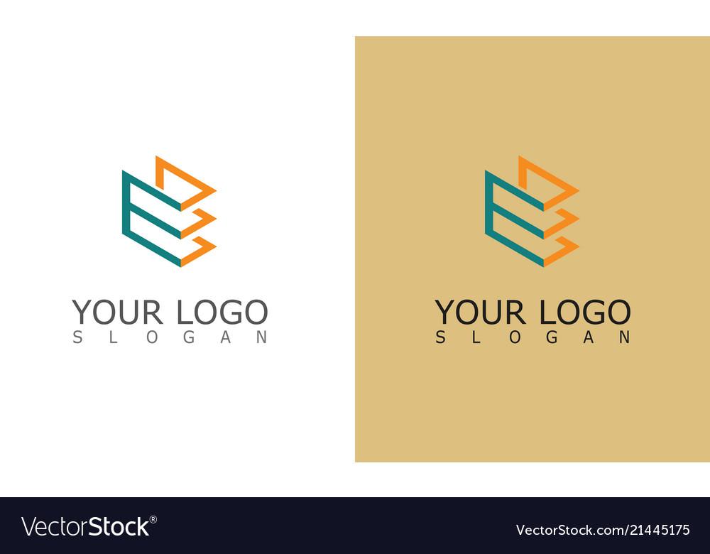 Line square shape logo