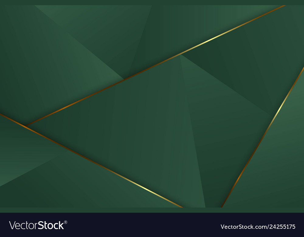Luxury triangle background