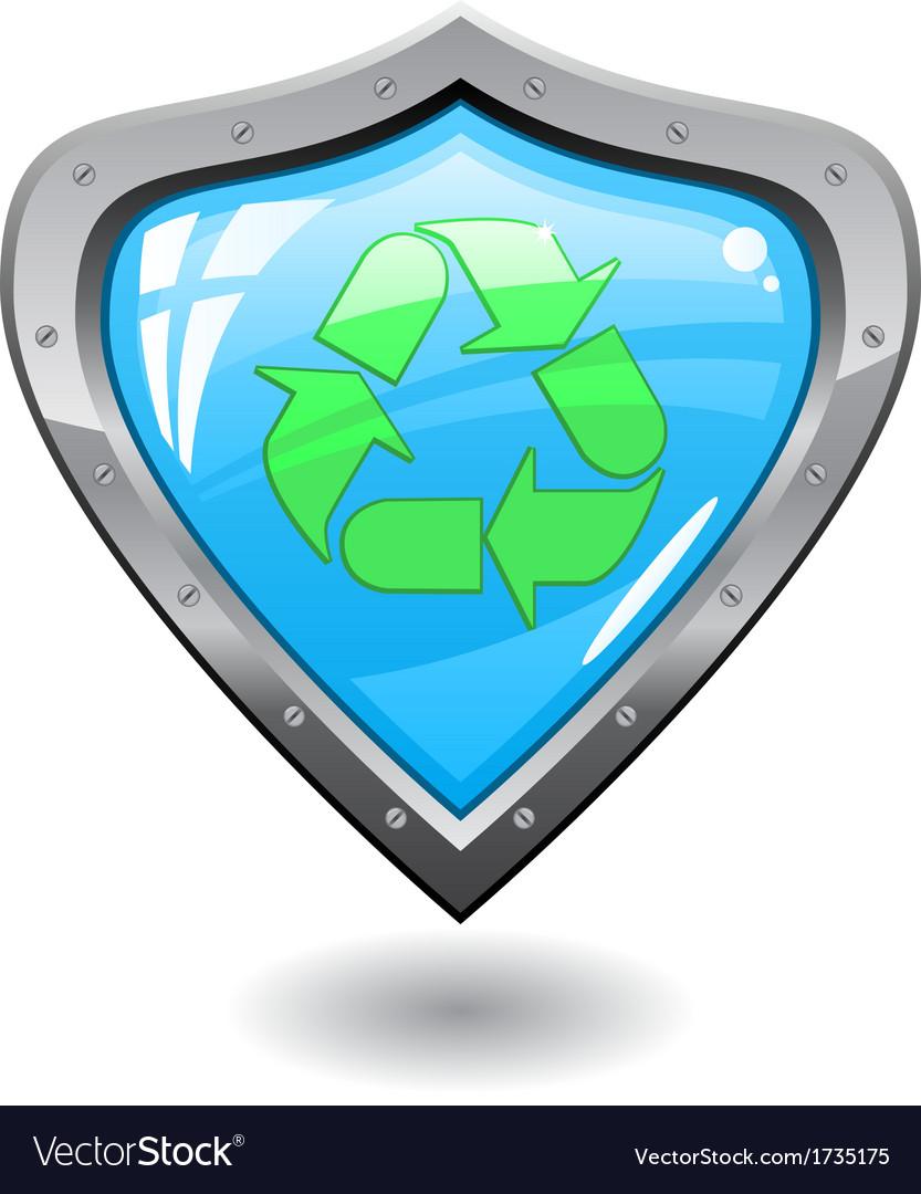 Recycling shield